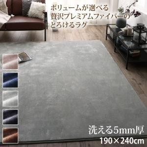 ラグマット 洗える 長方形  190×240cm 〔5mm厚ウレタン入りタイプ〕 sofa-lukit
