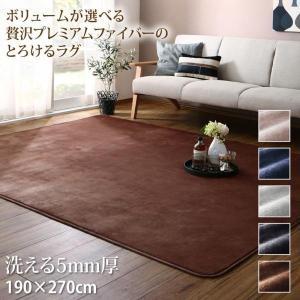 ラグマット 洗える 長方形  190×270cm 〔5mm厚ウレタン入りタイプ〕 sofa-lukit