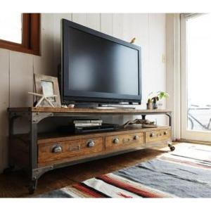 テレビ台 ローボード おしゃれ 150cm幅 西海岸 テレビボード ヴィンテージデザイン|sofa-lukit