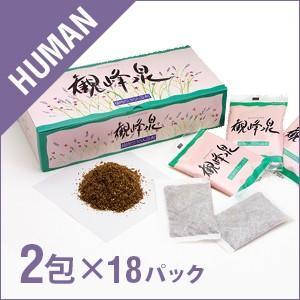 健康屋さん 観峰泉 1ケース 18パック(18×2包)入り sofia