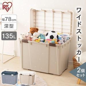 収納ボックス 2個セット 屋外 WY-780  アイリスオーヤマ