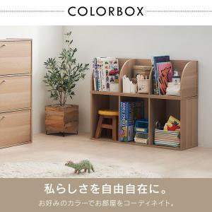 カラーボックス 3段 CX-3 収納ボックス 収納 収納ケース 本棚  棚 アイリスオーヤマ あすつく セール sofort 04