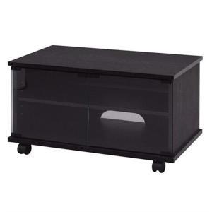 iris_coupon 液晶21Vに対応した木目調のシックなデザインのTV台です。可動棚板を上下させ...