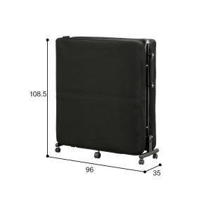 ベッド シングル 折りたたみ 折りたたみベッド 安い リクライニング低反発 OTB-TRコンパクト 簡単組立 折り畳み 布団 寝具 新生活 セール|sofort|20