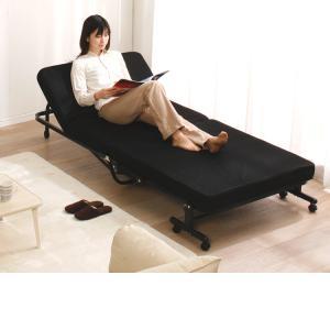 ベッド シングル 折りたたみ 折りたたみベッド 安い リクライニング低反発 OTB-TRコンパクト 簡単組立 折り畳み 布団 寝具 新生活 セール|sofort|09