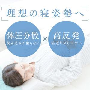 エアリーマットレス セミダブル 5cm APMH-SD 高反発 マットレス おすすめ エアリープラスマットレス 三つ折り アイリスオーヤマ 布団 洗える 抗菌防臭 軽量|sofort|06