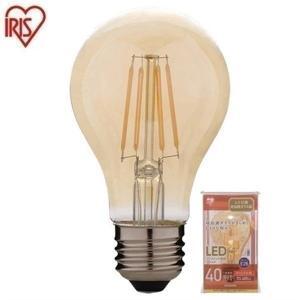 LED電球 E26 LEDフィラメント電球 レトロ風琥珀調ガ...