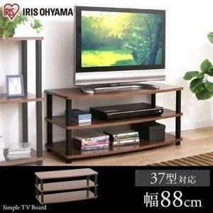 iris_coupon 組み立て簡単のテレビ台。 ポールをくるくる回すだけで簡単に組み立てができます...