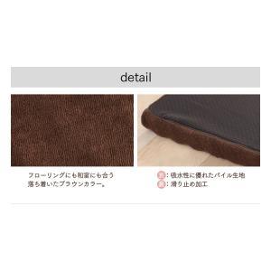 マットレス コンパクト 高反発マルチマットレス 60×180×6cm ブラウン 57500106 (D)|sofort|13