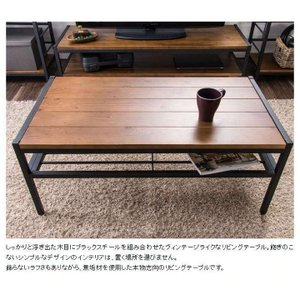 ローテーブル おしゃれ 木製 安い リビングテーブル 収納 センターテーブル  レトロ 一人暮らし テーブル BRTHLT|sofort|02
