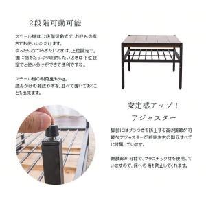ローテーブル おしゃれ 木製 安い リビングテーブル 収納 センターテーブル  レトロ 一人暮らし テーブル BRTHLT|sofort|06
