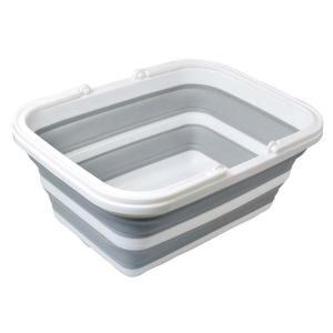 使わない時はたたんで、すき間に収納可能。 野菜や果物、皿等を洗ったり、洗濯のつけ置き洗いにも便利! ...