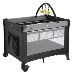 新生児の赤ちゃんから使うことができる、プレイヤード NewYork・Baby。 お昼寝用のシートはジ...