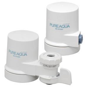 蛇口直結型浄水器 ピュアアクア+交換用カートリッジセット JJ-13L/JJC-6H