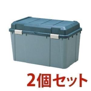【2個セット】収納ボックス ワイドストッカー 屋外 物置 屋外収納 ベランダ 収納 保管 WY-780 アイリスオーヤマの写真