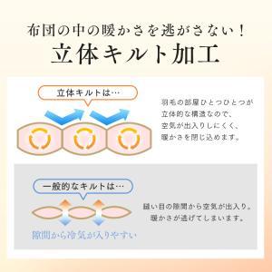 羽毛布団 シングル ロング 掛け布団 冬 暖かい 羽毛ふとん ホワイトダックダウン93% 日本製 抗菌 7年保証|sofort|15