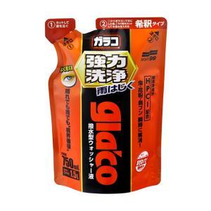 ソフト99 ガラコウォッシャー強力洗浄 【撥水剤】