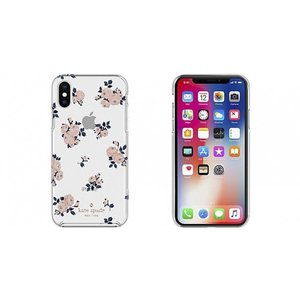 Kate Spade iPhoneXS iPhoneX ケース kate spade new york Protective Hardshell HAPPY ROSE|softbank-selection