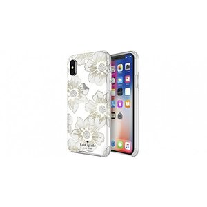 Kate Spade iPhoneXS iPhoneX ケース kate spade new york Protective Hardshell Reverse Holly Hock|softbank-selection