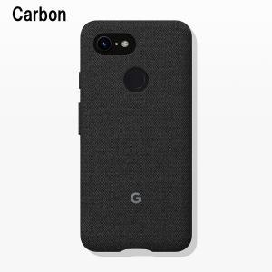 Google Fabric Case Carbon for Pixel 3 純正 スマホケース グーグルピクセル3 ケース カバー スマホカバー スマホ グーグル ピクセル3|softbank-selection