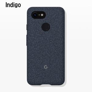 Google Fabric Case Indigo for Pixel 3 純正 スマホケース グーグルピクセル3 ケース カバー スマホカバー スマホ グーグル ピクセル3|softbank-selection