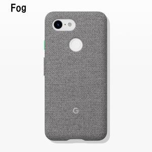 Google Fabric Case Fog for Pixel 3 純正 スマホケース グーグルピクセル3 ケース カバー スマホカバー スマホ グーグル ピクセル3|softbank-selection