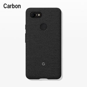 Google Fabric Case Carbon for Pixel 3 XL 純正 スマホケース グーグルピクセル3xlケース スマホカバー スマホ ケース カバー 携帯ケース|softbank-selection