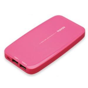 多摩電子工業 リチウムチャージャー 5100mAh ピンク|softbank-selection