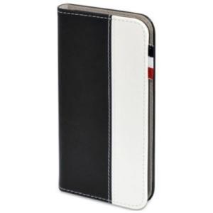 日本トラストテクノロジー BOOK Type for iPhone 7 ブラック/ホワイト|softbank-selection