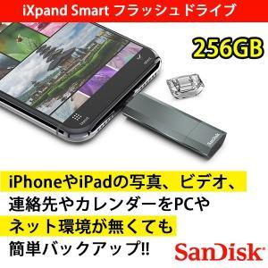 SanDisk iXpand Smart フラッシュドライブ 256GB|softbank-selection