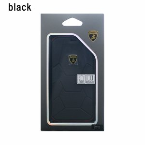 iPhone X ケース Lamborghini Aventador D7 Book type black|softbank-selection