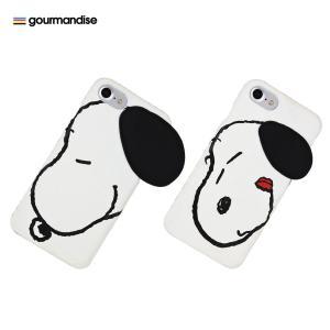 gourmandise ピーナッツ iPhone 7 / 6s / 6対応フェイスケース Aタイプ|softbank-selection