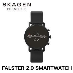 スマートウォッチ SKAGEN FALSTER 2.0 SMARTWATCH フォルスター BLACK|softbank-selection