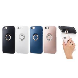 アウトレット SoftBank SELECTION フィンガーリングケース for iPhone 6s/6 ネイビー|softbank-selection