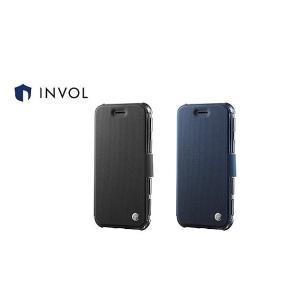 ブラック INVOL Air Shock Flip for iPhone 8 / 7 SB-IA15-SAFB / BK|softbank-selection