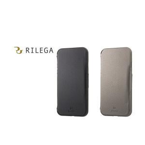 ブラック RILEGA Slim Flip for iPhone 8 / 7 SB-IA15-FPSM / BK|softbank-selection