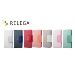 グレージュ RILEGA Harmony Flip for iPhone 8 / 7 SB-IA15-LCDI/GL|softbank-selection
