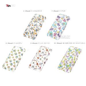 PGA iPhone 8 / 7用 クリアケース トイ・ストーリー|softbank-selection