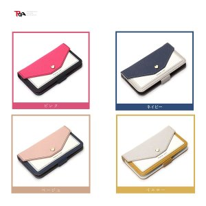 PGA iPhone 8 / 7 / 6s/6用 フリップカバー for girls ベージュ|softbank-selection