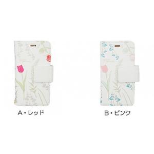flowering iPhone 8 / 7 / 6s / 6 ゴールドプリント エレガントフラワーケース B・ピンク|softbank-selection