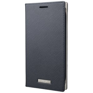 "GRAMAS  ""EURO Passione"" PU Leather Book Case for Pixel 3a XL ピクセル Navy