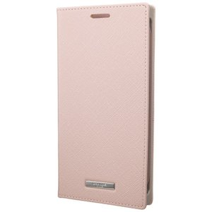 "GRAMAS  ""EURO Passione"" PU Leather Book Case for Pixel 3a XL ピクセル Pink Beige