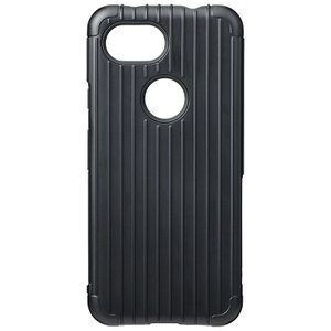 GRAMAS  Rib Hybrid Shell Case for Pixel 3a XL Black|softbank-selection