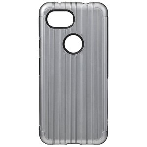 GRAMAS  Rib Hybrid Shell Case for Pixel 3a XL Gray|softbank-selection