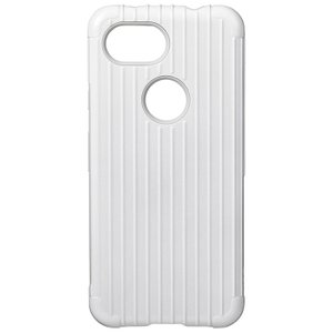 GRAMAS  Rib Hybrid Shell Case for Pixel 3a XL White|softbank-selection