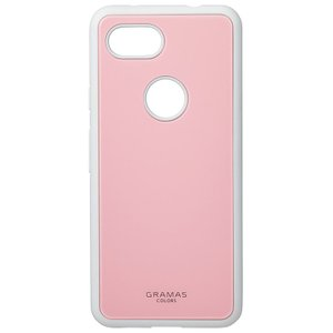 GRAMAS  Glassty Glass Hybrid Shell Case for Pixel 3a XL ピクセル Pink|softbank-selection