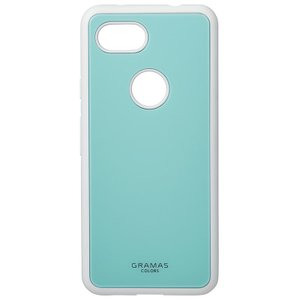 GRAMAS  Glassty Glass Hybrid Shell Case for Pixel 3a XL Mint|softbank-selection