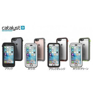 防水・耐衝撃 Catalyst iPhone 6s Plus / 6 Plus完全防水ケース ブラックオレンジ|softbank-selection