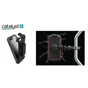 防水・耐衝撃 Catalyst iPhone 6s Plus/6 Plus クリップスタンド ブラック|softbank-selection