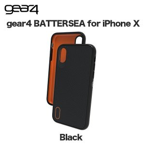 gear4 BATTERSEA for iPhone XS / X Black|softbank-selection